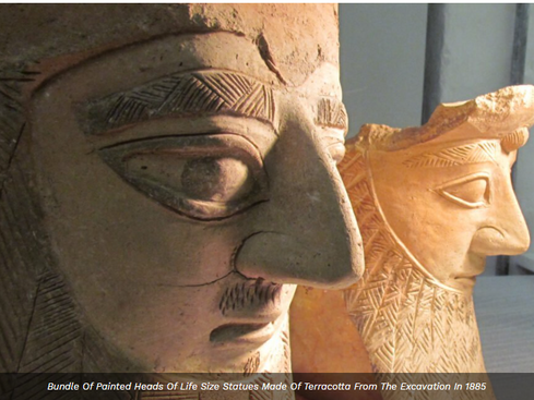 Forgotten for over a century, ancient sanctuary reveals its treasures