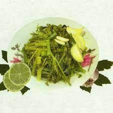 Wild Mallow & Lapsana Salad