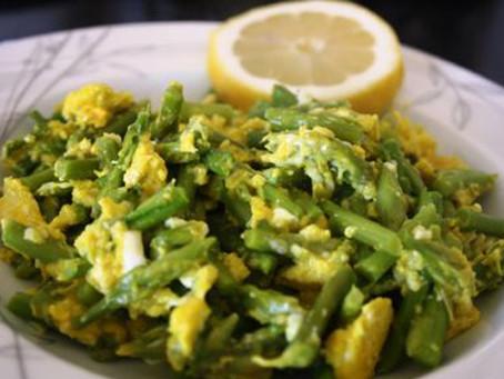 Eggs with Wild Asparagus