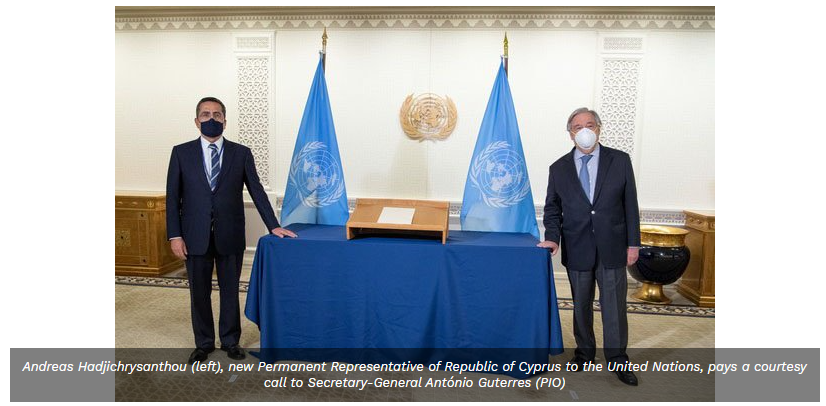 UN 'committed to Cyprus and its people', Guterres says