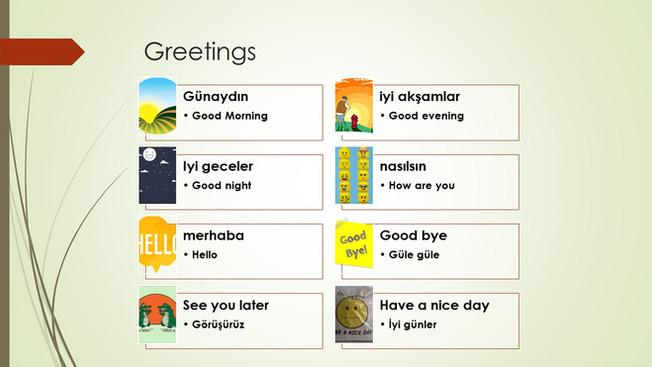 Turkish Phrases