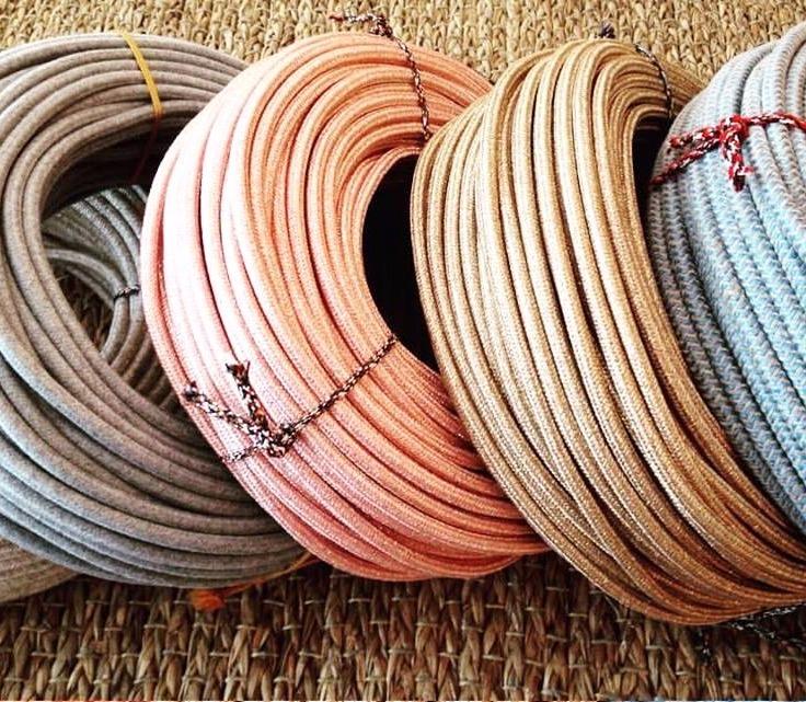 Câble textile en 2 ou 3 conducteurs