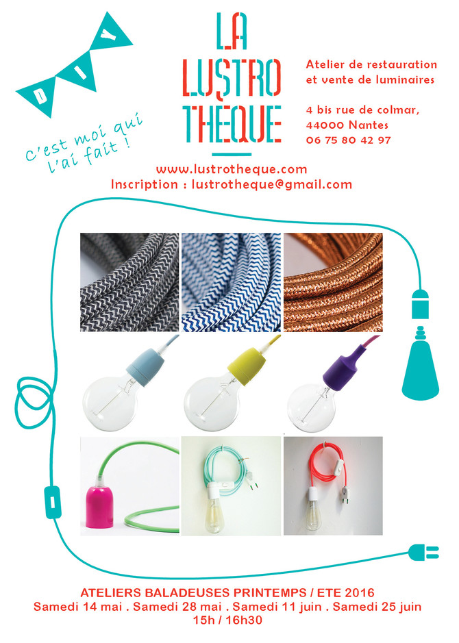 Atelier baladeuse, DIY