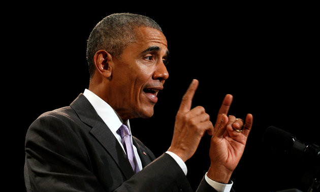 President Barack Obama, pointing at the direction health insurance premiums are going on the exchanges created by the Affordable Care Act.