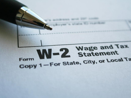 IRS Issues Reminder That Forms W-2 Are Due Earlier
