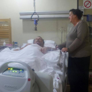 hospital visitation & donations