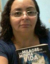 """""""Deus falou ao meu coração com o testemunho da vida e fé da Silvia"""", disse a leitora Patricia."""