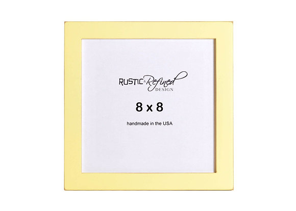 """8x8 1"""" Gallery Picture Frame - Daffodil"""