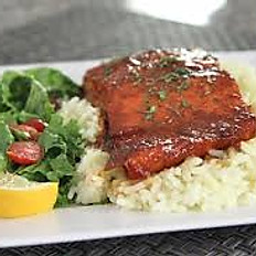 Fish Sauce Glazed Salmon