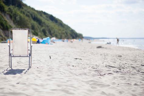 our beach...