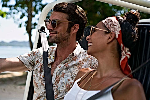 Mini Moke - perfect vacation car rental in Praslin - Seychelles