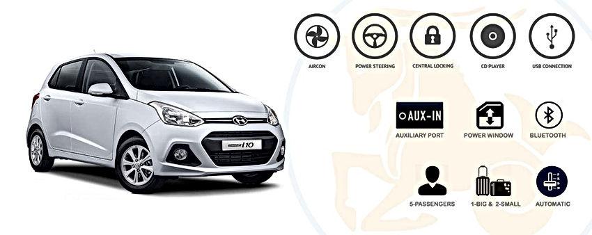 Capricorn Car Rental - Grand I10 Hyundai