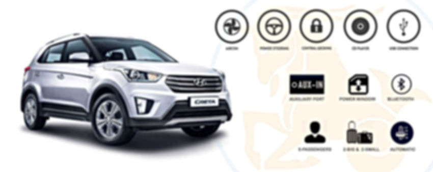 Capricorn Car Rental - Creta Hyundai
