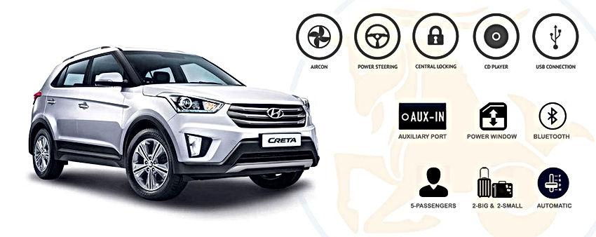 Capricorn Car Rental - Creta Hyundai