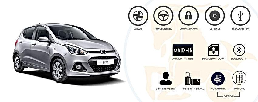 Capricorn Car Rental - I10 Hyundai