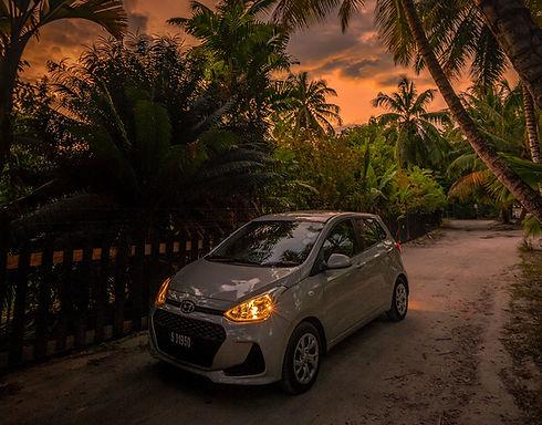 Hyundai Grand i10 Car Rental services Praslin - Seychelles