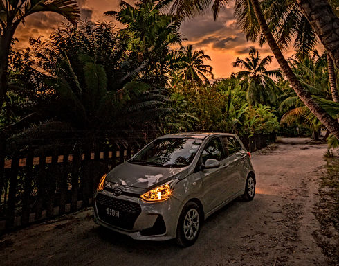 Hyundai Grand i10 Car Rental services Praslin - Seychelles