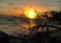 sunset praslin seychelles