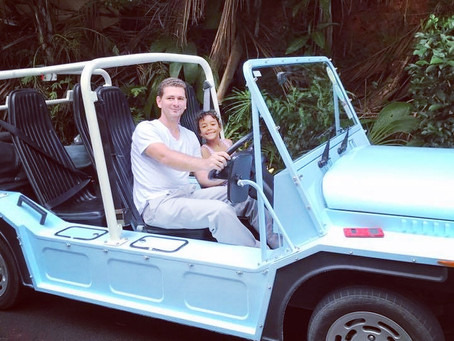 Book your Mini Moke for your next vacation rental.