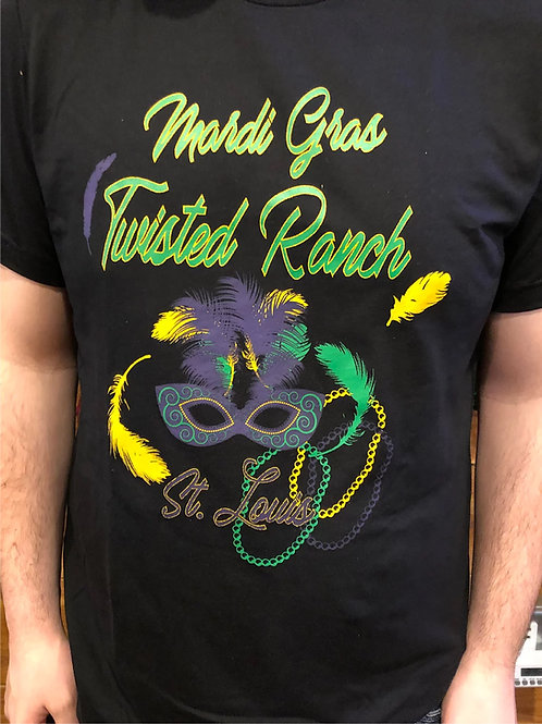 TWISTED RANCH MARDI GRAS T-SHIRT