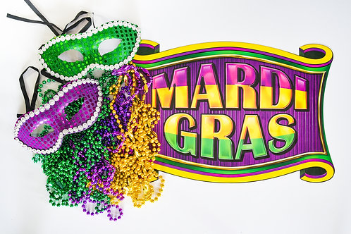 Mardi Gras VIP 2021 $60 plus tax and fees