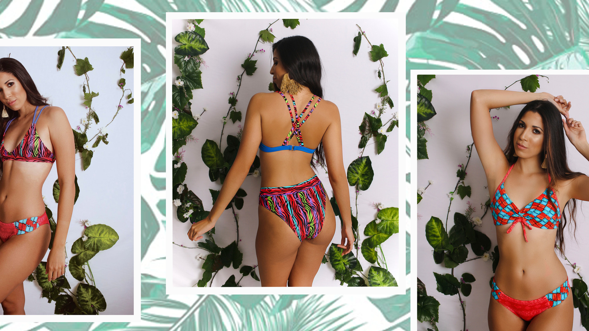 Mix and Match Bikinis Level up your look with making your own combination!