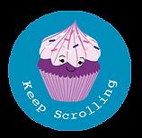 Transparent Opacity Cupcake Keep Scroll