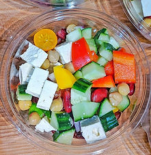 This Summer Greek Chopped Salad hits the