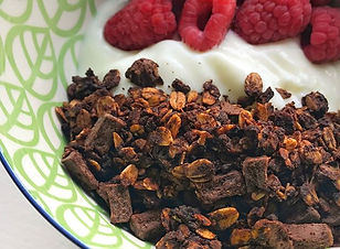 Double Chocolate PB Granola in the shop!