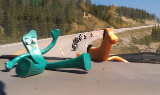 On Tour with Gumby and Pokey