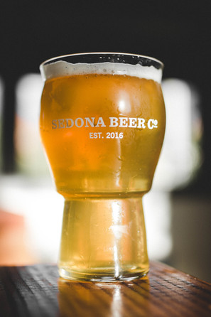 Pint of Sedona Beer