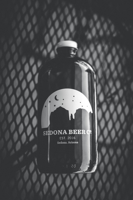 Growler from Sedona Beer