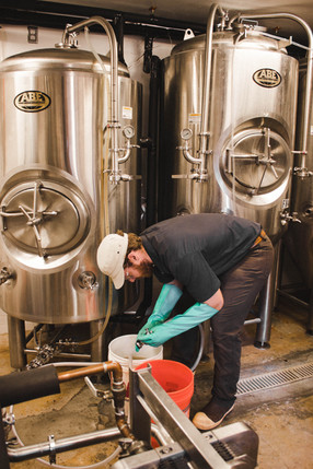 Brewer making Sedona Beer