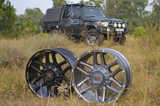 RRC3 Gunmetal Machined & Gloss Black Machined