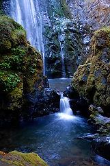 Susan Creek Falls in the Cascade Mountai