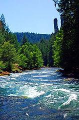 North Umpqua River in the Cascade Mounta