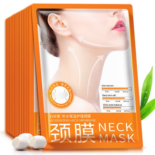 10pcs BIOAQUA Neck Mask Anti-Wrinkle