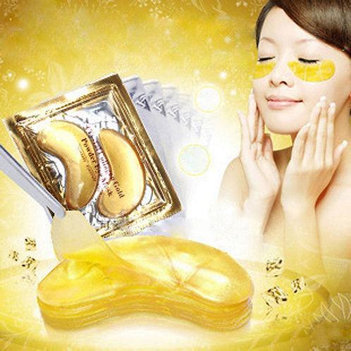 5 pack of  Gold Crystal Collagen Eye Mask Eye