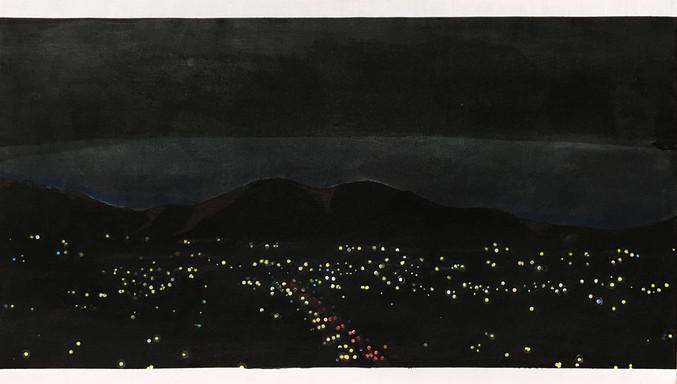 Establishing Shot, City At Night