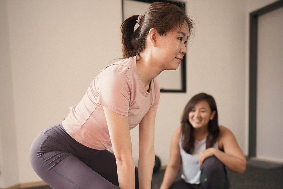 Personal training singapore, female personal trainer singapore, holistic personal training