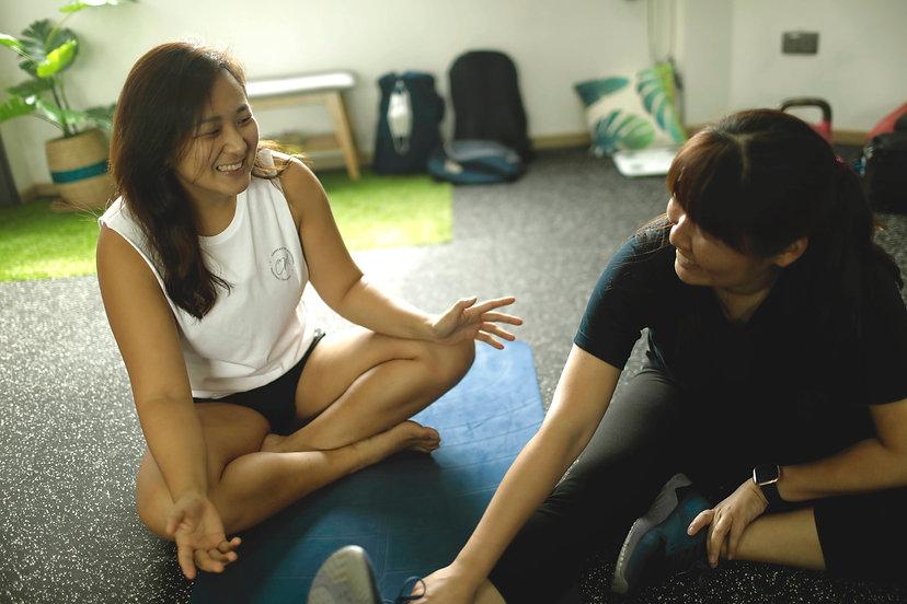 Female personal trainer singapore female personal training