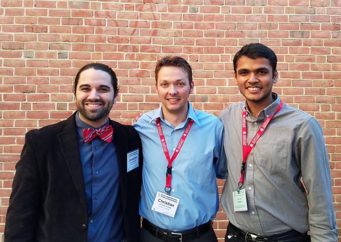 Franck Lab at Society of Engineering Science Annual Technical Meeting