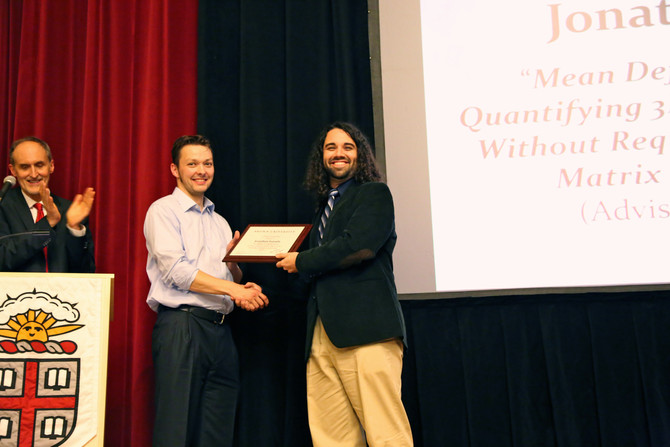 Congratulations to Jon on receiving the William N. Findley Award!