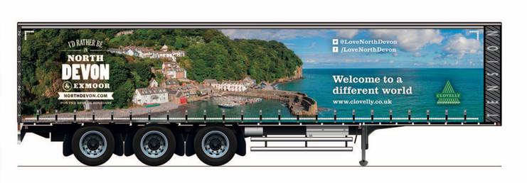 Evans Transport Lorry