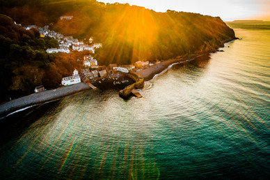 Clovelly Sunlight