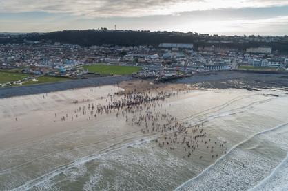 Westward Ho!  - New Year's Day Sea Swim