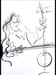 Lute Sketch