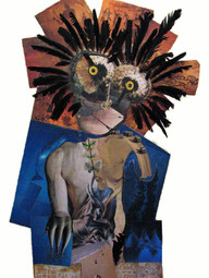 Torso and Feathered Face