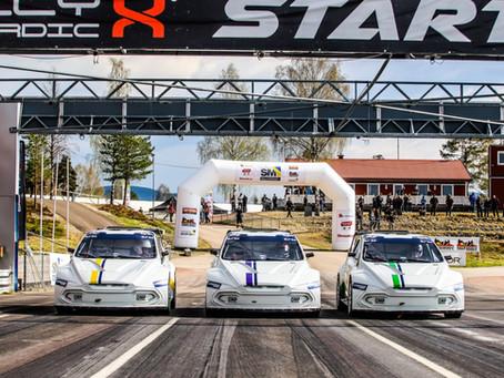 FIA RX2e Championship car impresses rallycross elite at Höljes