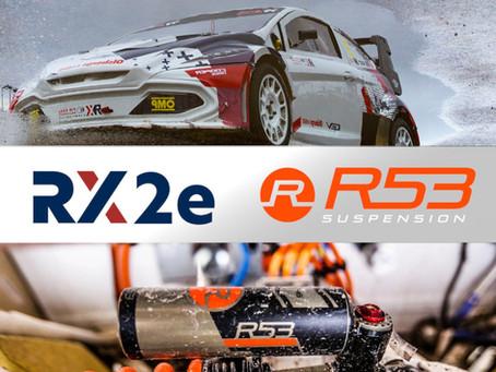 R53 Suspension to supply all FIA-RX2E vehicles for the WRX Championship
